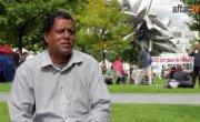 Desmond D'Sa à l'ESU 2014 : Lutter contre les multinationales
