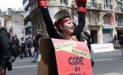 Retour en images sur la manifestation contre la loi Travail du mardi 14 (...)