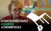 Eva Joly à la défense ! Soutien aux Faucheurs De Chaises