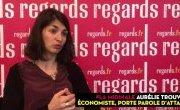 Aurélie Trouvé dans Regards : « Marine Le Pen au pouvoir serait la pire des (...)