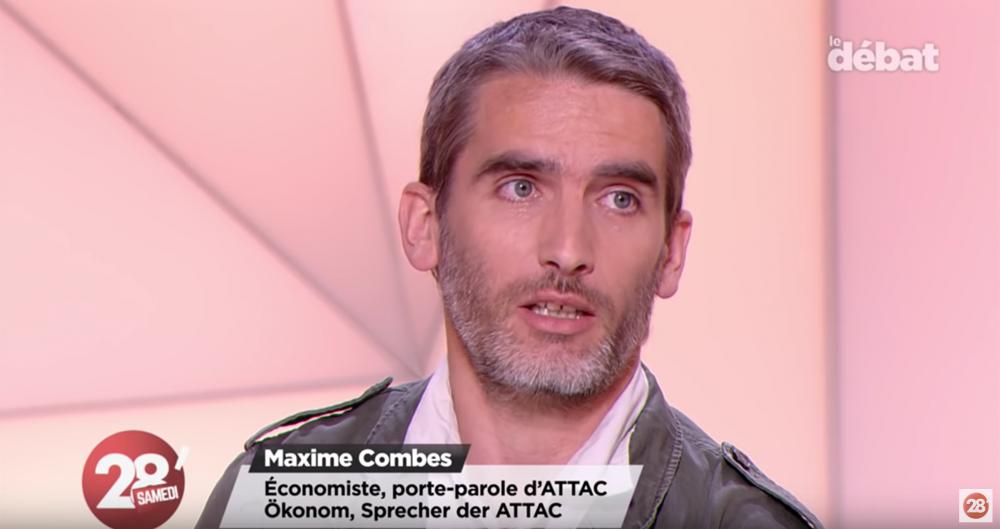Accord commercial avec le Mercosur – Maxime Combes, invité du « 28 Minutes samedi » d'Arte