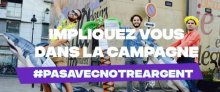 15 septembre : journée de mobilisations #PasAvecNotreArgent