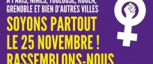 Le 25 novembre : journée internationale de lutte contre les violences (...)