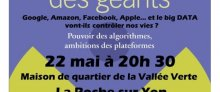 Google, Amazon, Facebook, Apple et le BIG DATA vont-ils contrôler nos vies (...)