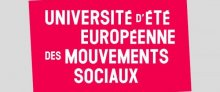 Université d'été à l'initiative des Attac d'Europe