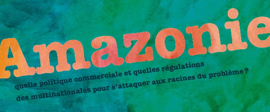 Note de décryptage : Amazonie, quelle politique commerciale et quelles régulations des multinationales pour s'attaquer aux racines du problème ?