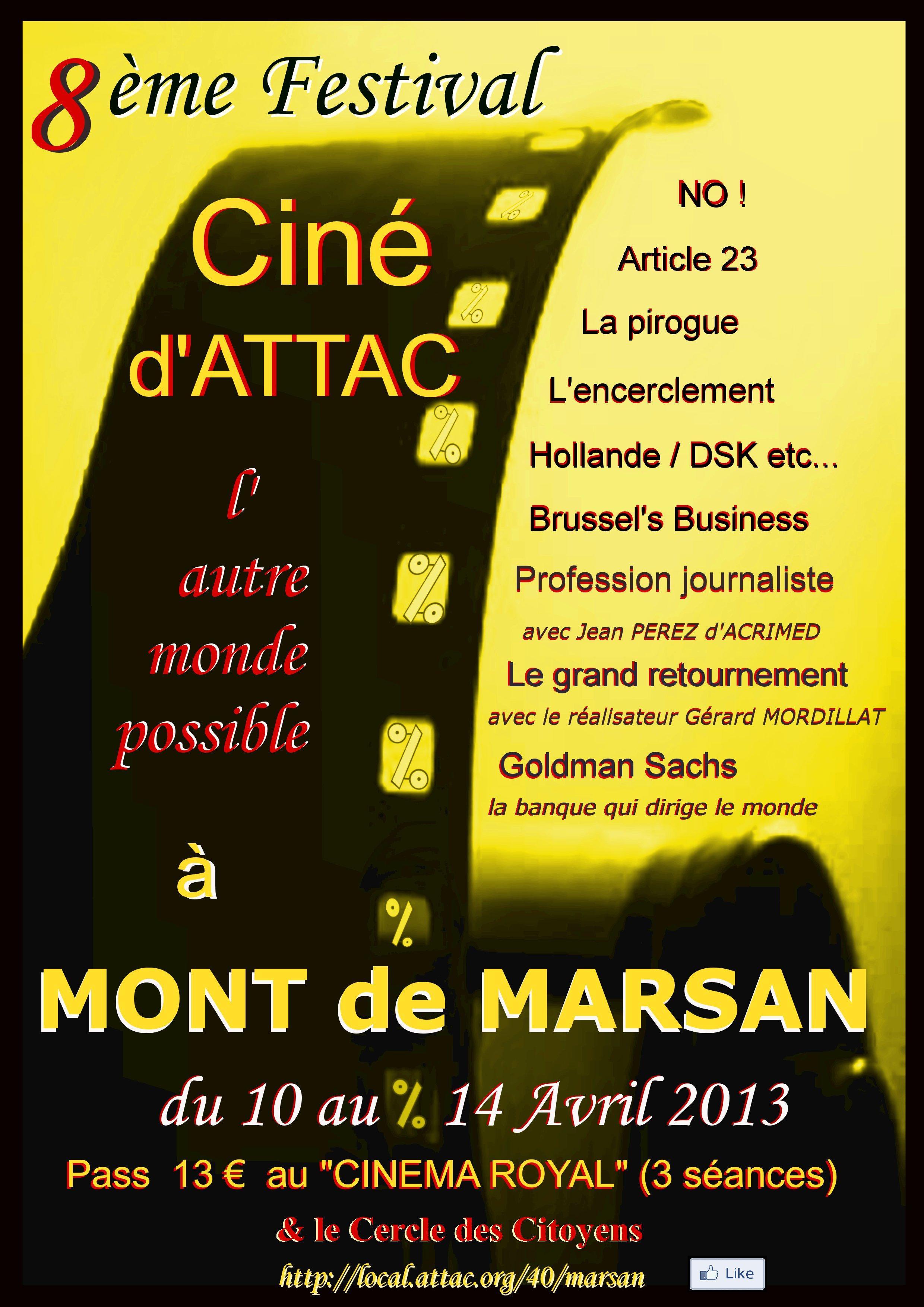 Ciné d'Attac Marsan