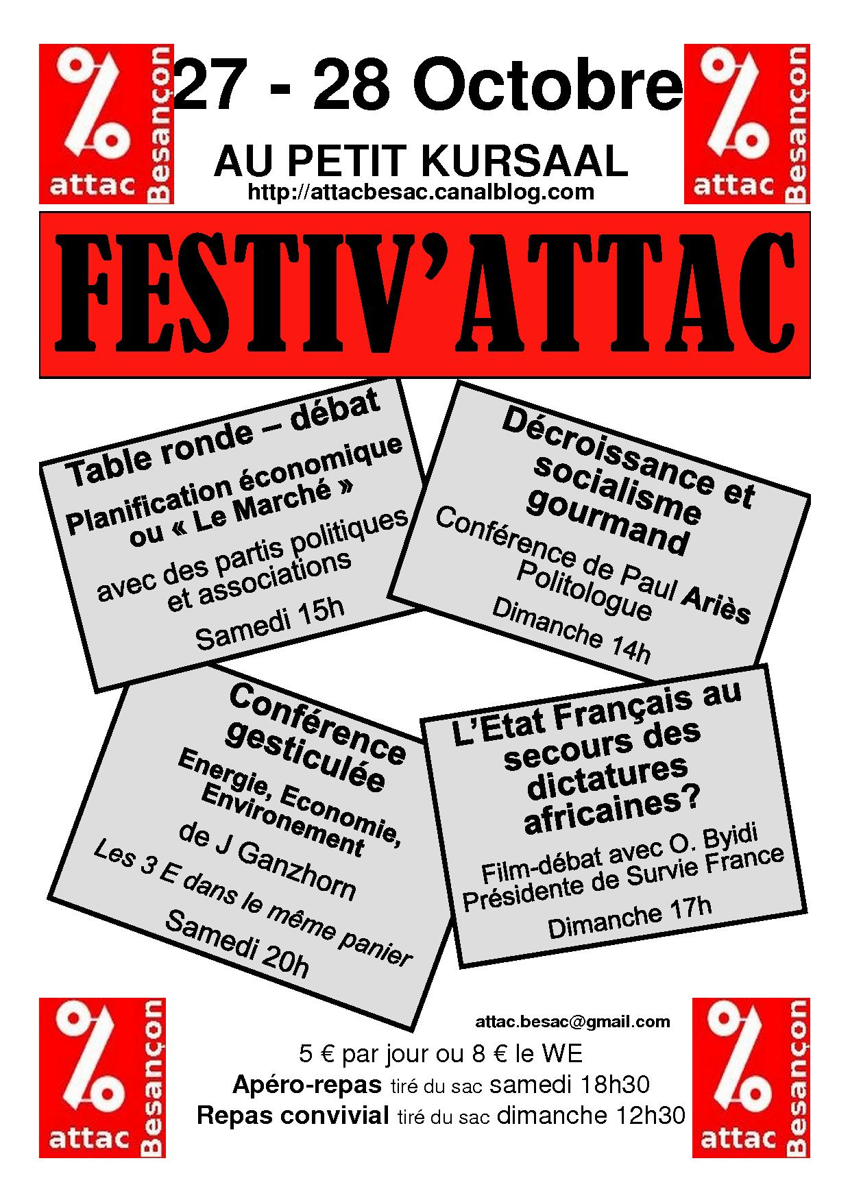 Festiv'Attac Besançon