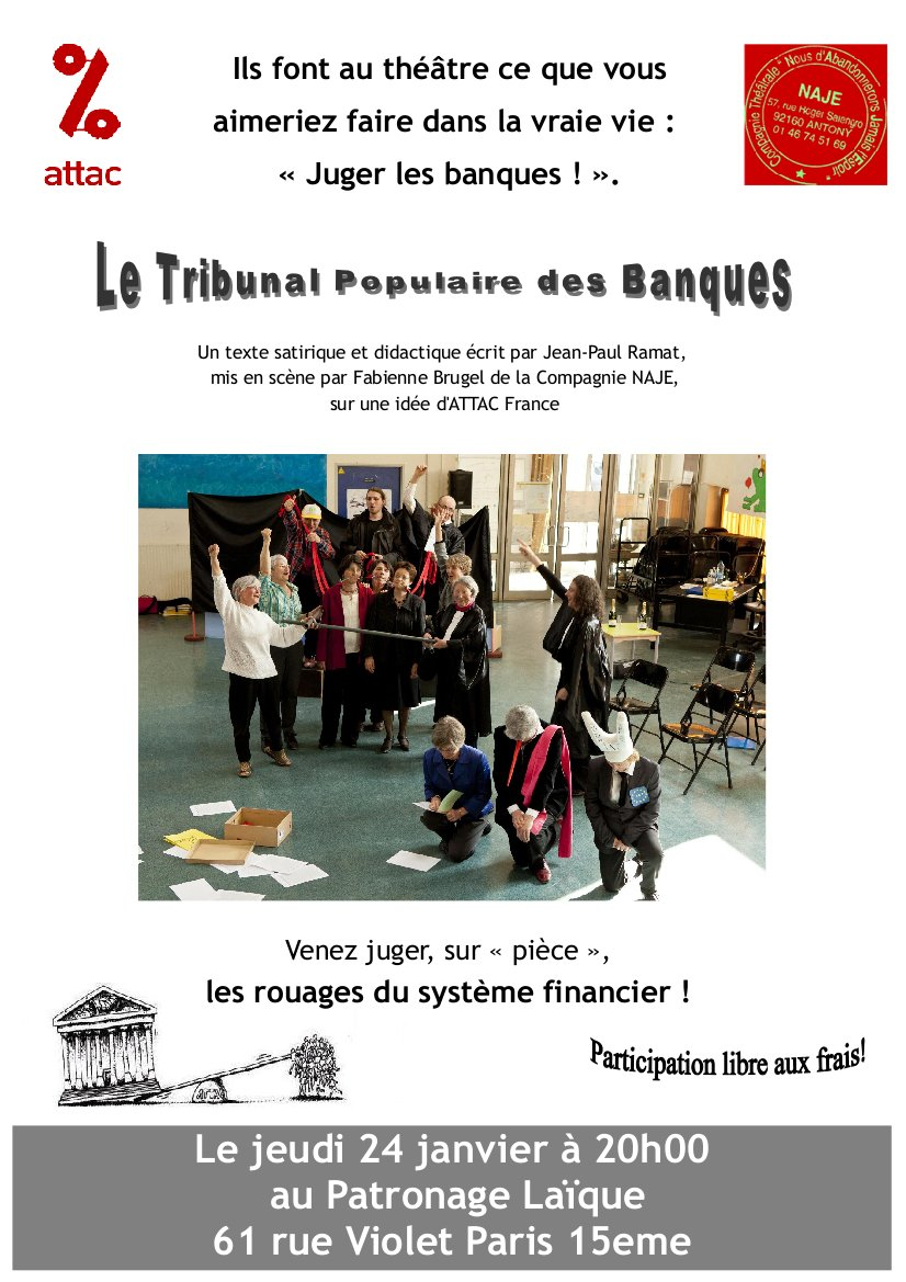 "Tribunal des banques - Attac Paris 15<sup class=""typo_exposants"">e</sup>"
