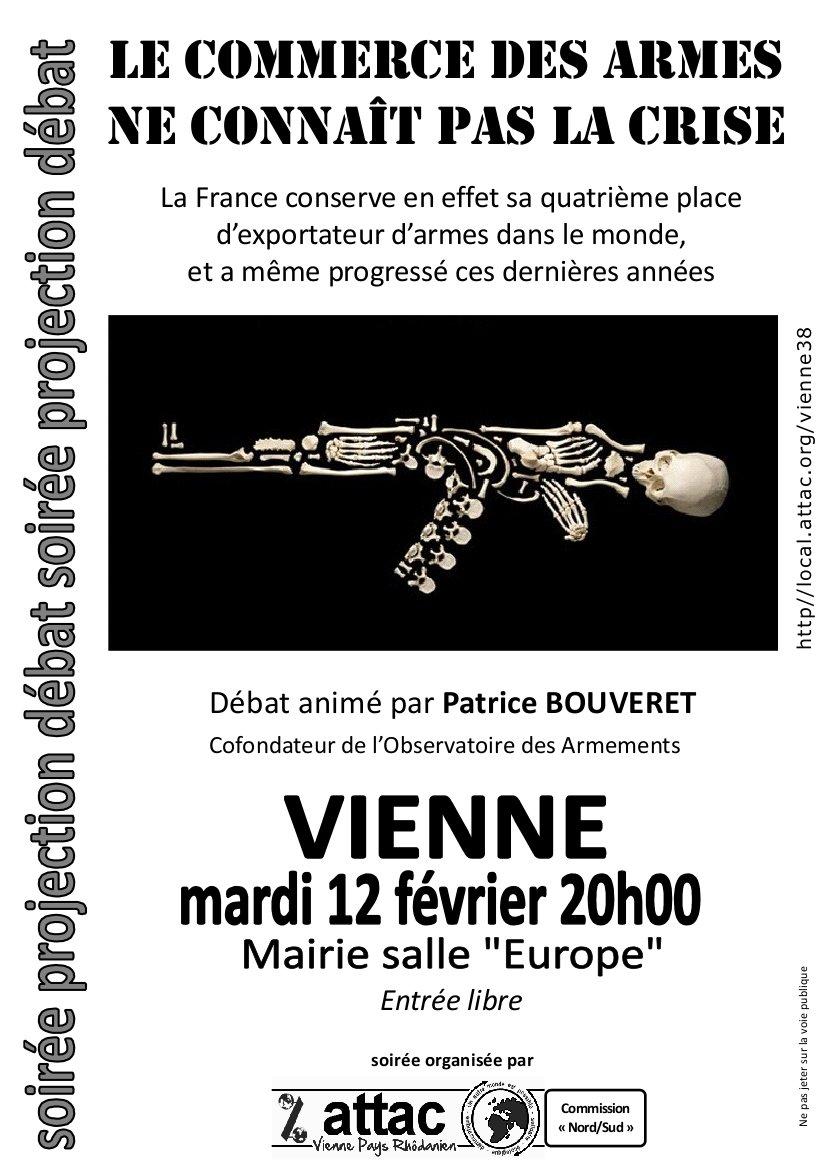 Vienne, commerce des armes